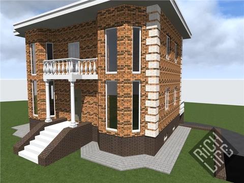 3 уровневый дом + цоколь, площадью 295 м2