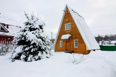 Дом в СНТ Учитель в Москве, поселение Кленовское - Фото 1