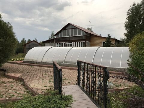 Загородная усадьба по Ярославскому шоссе 85 км от МКАД - Фото 1
