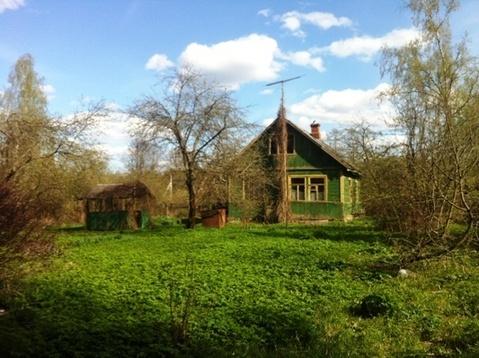 Дачный участок 13 соток с домиком 60 м.кв. в п. Бабаево, Рузский район - Фото 1