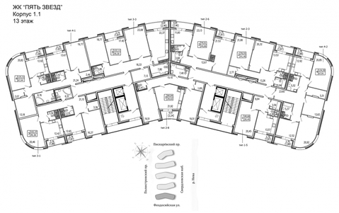Продам 2к. квартиру. Жукова ул, д.3 к.1.1 - Фото 2