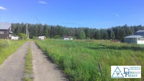 Продается земельный участок 5,6 соток, п.Рылеево, рядом г Бронницы - Фото 1
