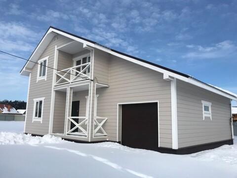 Купить дом из бруса с гаражом - Фото 1