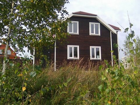 Новый дачный дом рядом с озером Плещеево