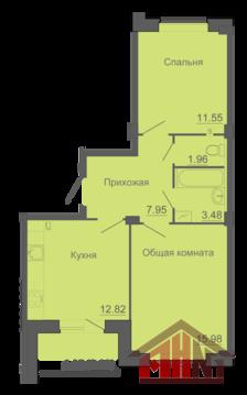 Продажа квартиры, Портянниково, Псковский район, Окольная улица - Фото 1