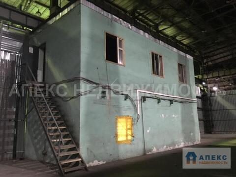 Аренда помещения пл. 1072 м2 под склад, м. Авиамоторная в складском . - Фото 5