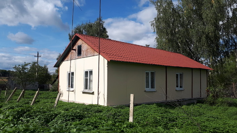 Крайний на улице, дом на 18 сотках в п.Пахомов, газ, вода, канализация - Фото 1