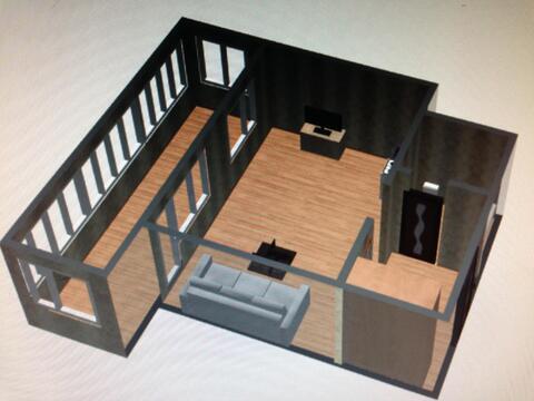 Однокомнатная квартира-студия - Фото 5