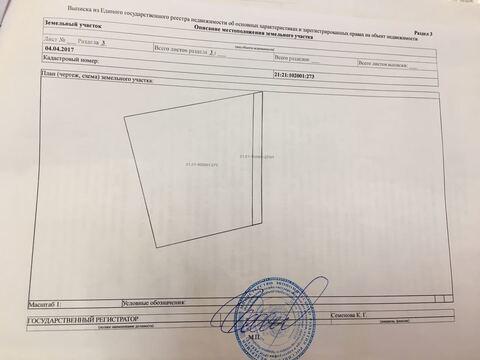 Продаю земельный участок в с.Хыркасы Чебоксарского района