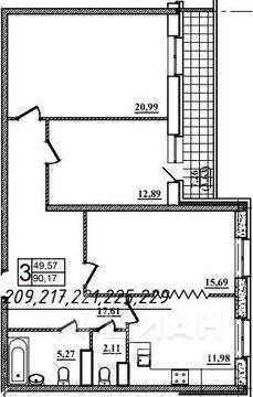 Продаю3комнатнуюквартиру, Назрань, Московская улица, 28, Купить квартиру в Назрани по недорогой цене, ID объекта - 323071413 - Фото 1