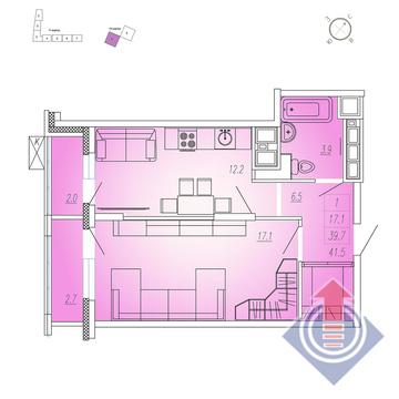 Продажа квартиры, Мытищи, Мытищинский район, Купить квартиру в новостройке от застройщика в Мытищах, ID объекта - 328978928 - Фото 1