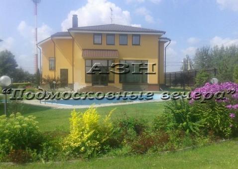 Новорижское ш. 24 км от МКАД, Борзые, Коттедж 450 кв. м - Фото 1
