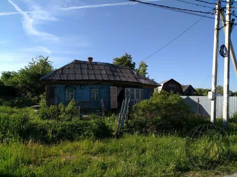 Участок со старым домом ИЖС в д. Сертякино г.о. Подольск - Фото 1