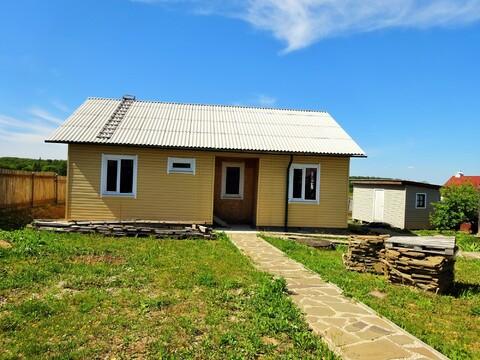 2 дома с баней в деревне Теряево Заокского р-на. - Фото 1