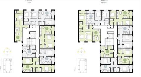 Новый дом 1 комнатная квартира г. Видное - Фото 5