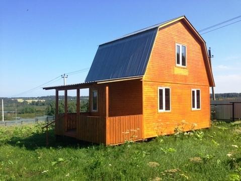 Дачный домик на 20 сотках в д. Барынино, Рузский городской округ. - Фото 1