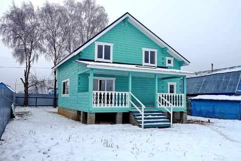 Продается новый дом 170 кв.м, в деревне, участок 18 соток. - Фото 1