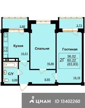 1 246 600 Руб., Продаю2комнатнуюквартиру, Махачкала, улица А. Каммаева, 20, Купить квартиру в Махачкале по недорогой цене, ID объекта - 321979760 - Фото 1