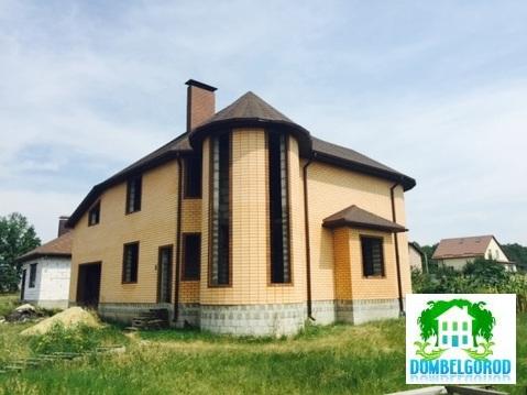 Коробка дома из желтого кирпича Новосадовый - Фото 4