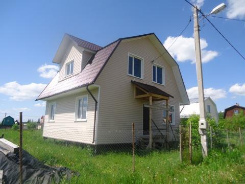 Продается 2х этажная дача 120 кв.м. на участке 8 соток - Фото 2