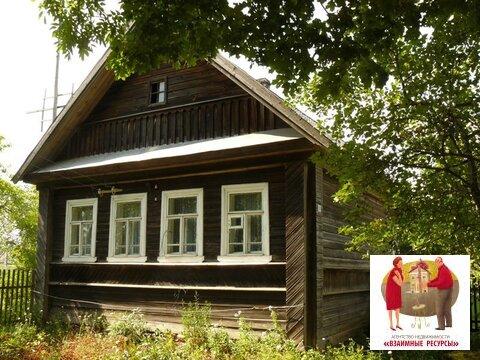 Добротный дом с участком в д. Ручьи Крестецкого р-на - Фото 1
