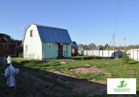 Дача в СНТ Щербово, село Барановское. 65 км до МКАД - Фото 1