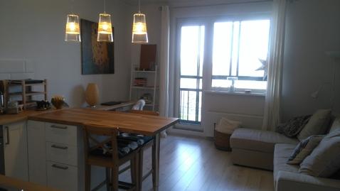 Квартира студия 37кв.м. в Скандинавском стиле в Пушкине - Фото 2