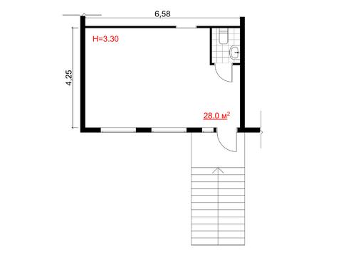 Офисные помещения на Краснознаменской 15а, аренда - Фото 2