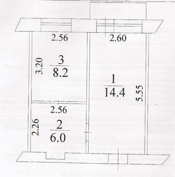 2-х комн. квартира, ул. Красноармейская, д. 132, г. Кемерово - Фото 4