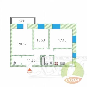 Продажа квартиры, Тюмень, Ул. Домостроителей - Фото 1