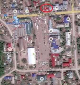 Помещение в проходном месте в центре Аткарска - Фото 2