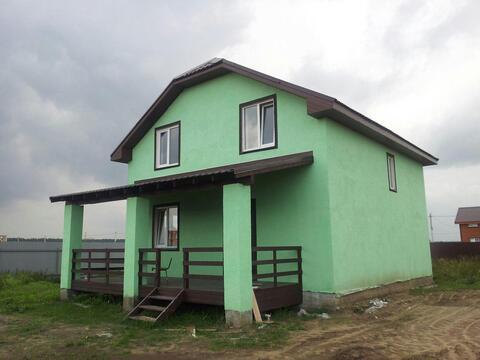 Продается новый дом под ключ 160м, 10сот, с. Малышево, Раменский район - Фото 1