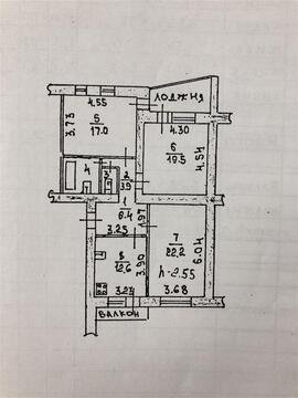 Улица Гагарина 131а; 3-комнатная квартира стоимостью 5000000 город . - Фото 4
