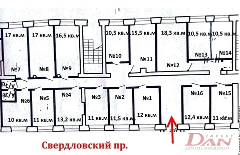 Коммерческая недвижимость, пр-кт. Свердловский, д.31 - Фото 3