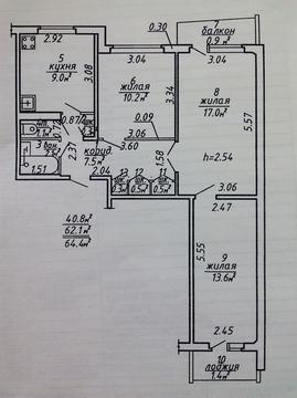 3-к квартира на Правде