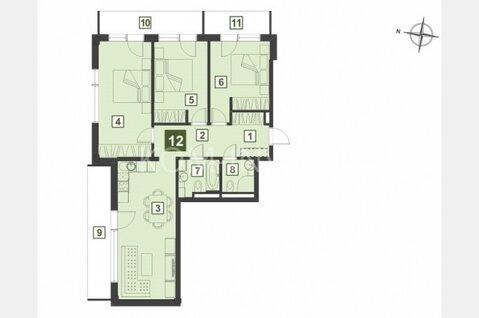 4-комнатные апартаменты в новостройке в центре Юрмалы - Фото 1