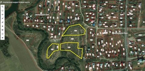 Продается участок в г.Домодедово 2,1 га ИЖС у реки (можно частями) - Фото 1