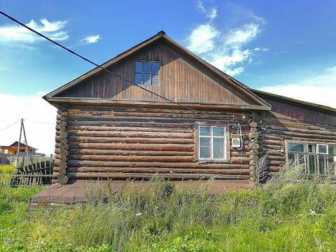 Продам деревянный одноэтажный дом вблизи р.Ангара - Фото 1