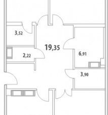Продажа квартиры, м. Крестовский остров, Ул. Спортивная - Фото 2