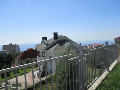 Участок с видом на море, в Никите,1 сотка.Малоэтажная жилая застройка - Фото 2