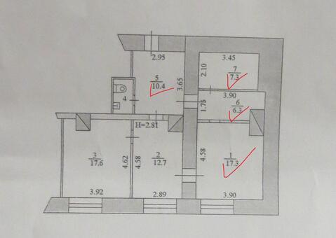Сдам помещение 74 м2 в г. Серпухов, Площадь Ленина - Фото 4