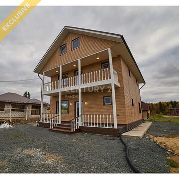 Продажа 3-этажного дома 245 м кв. на земельном участке 10 соток - Фото 1