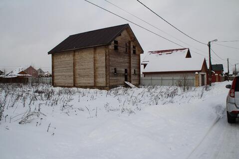 Недостроенный брусовой дом на участке 15 соток в ДПК Колосок - Фото 3