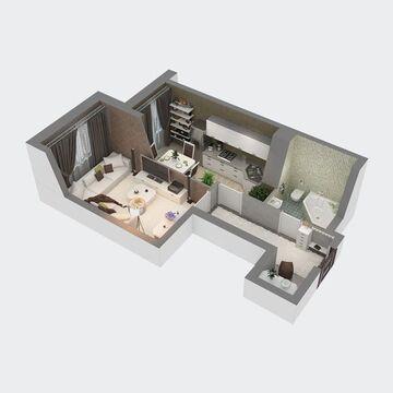 Продажа квартиры, Пенза, Ул. Антонова, Купить квартиру в Пензе по недорогой цене, ID объекта - 326427266 - Фото 1