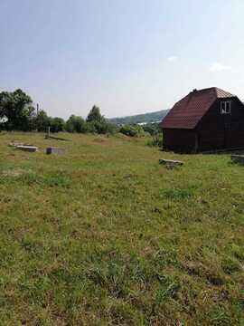 Продается деревянный, Дом- Баня 6х6 на участке 19 соток. рядом с дерев - Фото 1