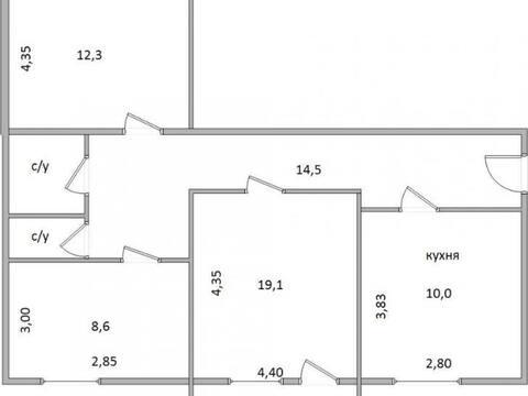 Продажа трехкомнатной квартиры на улице Бульвар Моторостроителей, 5 в ., Купить квартиру в Калуге по недорогой цене, ID объекта - 319812790 - Фото 1