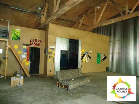 Теплый склад с окнами, разгрузка в пол, широкие распашные ворота, внут - Фото 1