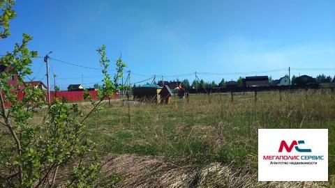Продаётся земельный участок 8,5 сот. в ДНП Луговой, д.Бывалино - Фото 1