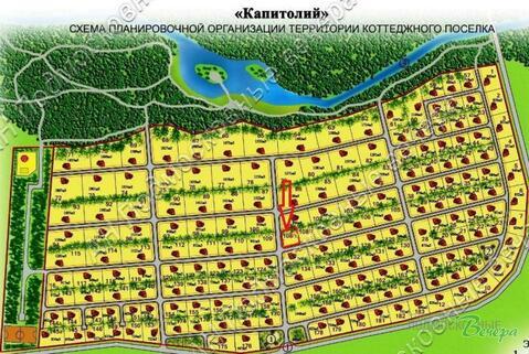 Киевское ш. 20 км от МКАД, Бараново, Участок 5.3 сот. - Фото 3