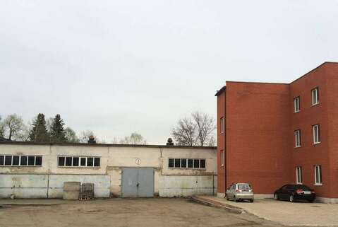 Производственно-складская база 3750 м2 в Домодедово, ул.Станционная - Фото 1